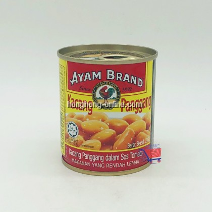 [AYAM BRAND] BAKED BEANS IN TOMATO SAUCE 230G