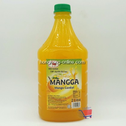 [RED HORSE] SYRUP MANGO CORDIAL 芒果味糖水 2L