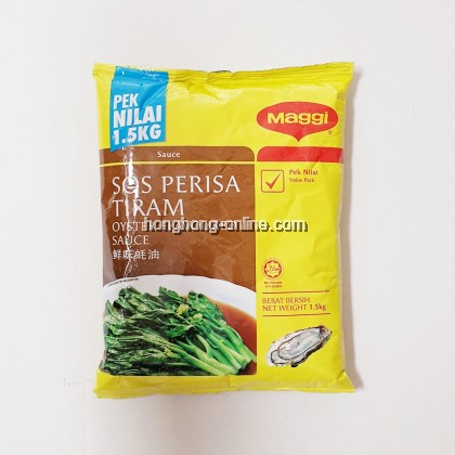 [MAGGI] OYSTER FLAVOURED SAUCE 1.5KG