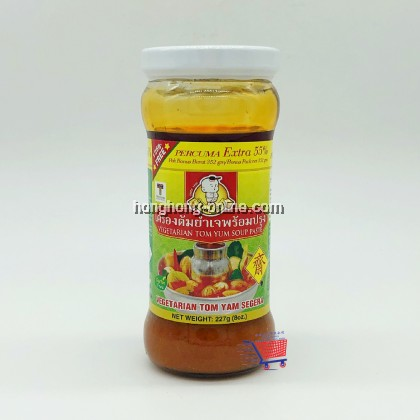 [THAI BOY] VEGETARIAN THAI TOM YUM SOUP PASTE 素泰国冬炎酱 227G