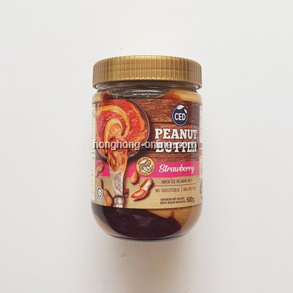 [CED] PEANUT BUTTER STRAWBERRY 500G