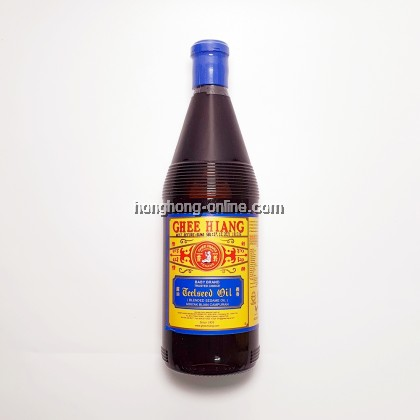 [GHEE HIANG] SESAME OIL BLENDED (BLUE) 680ML