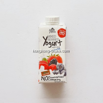 [FARM FRESH] YOGURT MIX BERRIES 200ML
