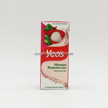 [YEO'S] LYCHEE FLAVOURED DRINK 荔枝水 250ML
