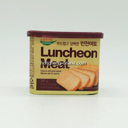[LOTTE] LUNCHEON MEAT 午餐肉 340G