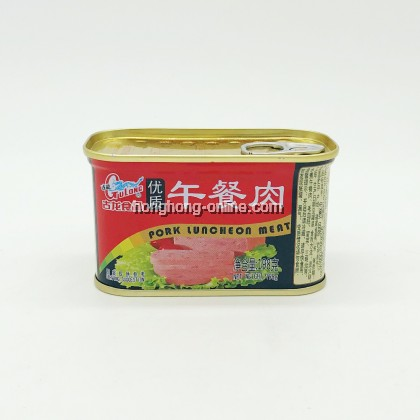 [GULONG] PORK LUNCHEON MEAT 优质午餐肉 198G