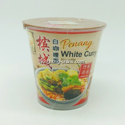 [MYKUALI] PENANG WHITE CURRY NOODLE CUP 槟城白咖哩面 95G
