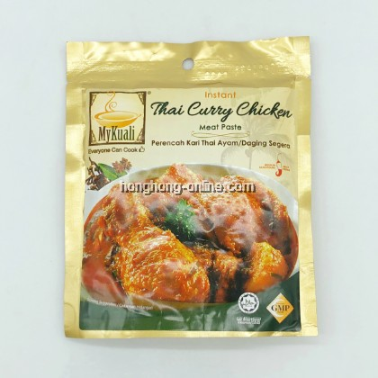 [MYKUALI] INSTANT THAI CURRY / MEAT PASTE 泰式咖哩鸡/肉即煮酱 200G