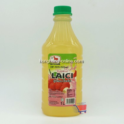 [RED HORSE] KORDIAL LAICI / LYCHEE CORDIAL 1L